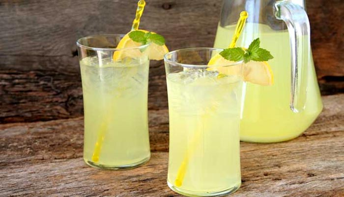 lemon water benefits in summer