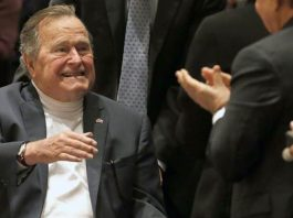 Former US Prez George H.W. Bush released from hospital
