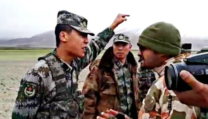 india china Troops clash again eastern ladakh Pangong Tso lake