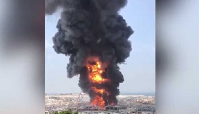 Fire In Beirut