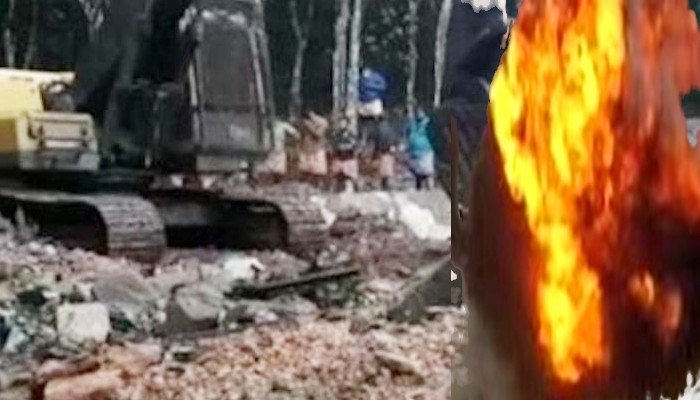 Kerala explosion at quarry-in Ernakulam district Two labourers dead