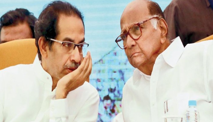 Maharashtra Politics Sharad Pawar Uddhav Thackeray Meet after Sanjay Raut Fadnavis