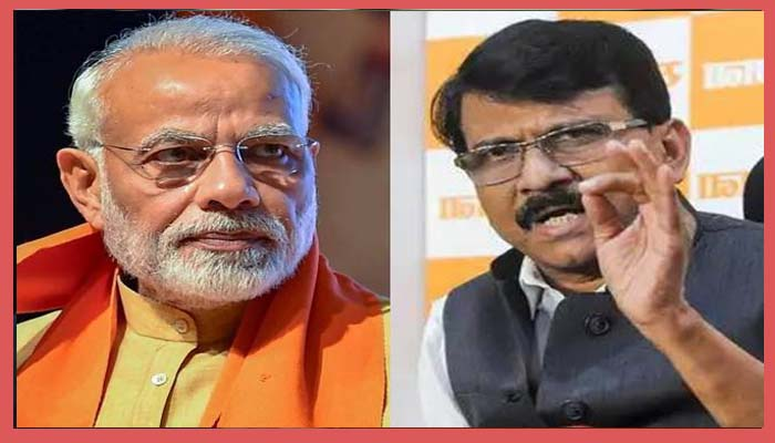 Narendra Modi And Sanjay Raut