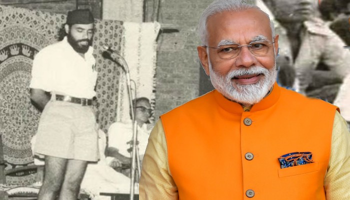 Narendra Modi Political journey from RSS worker to Prime Minister