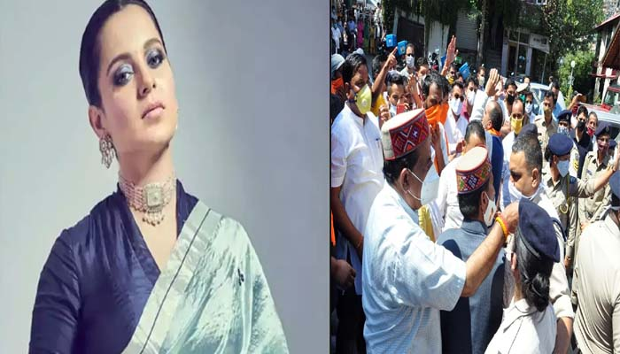 bjp in kangana ranout support