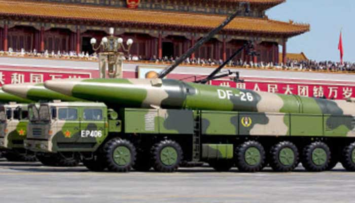 china nuclear missiles