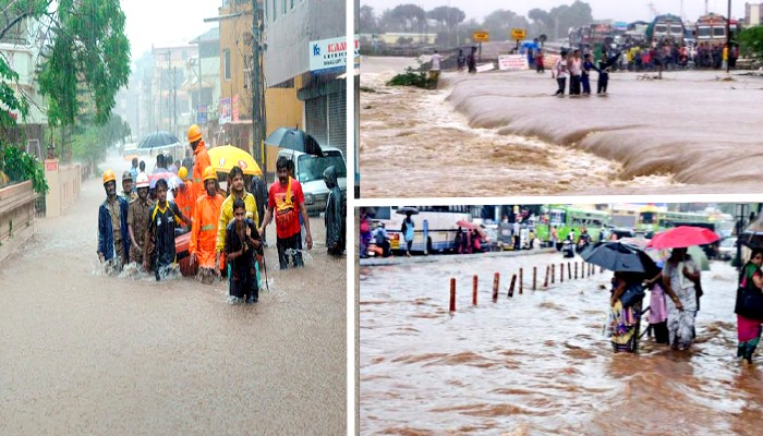 karnataka Heavy Rain red Alert issued disaster in many districts