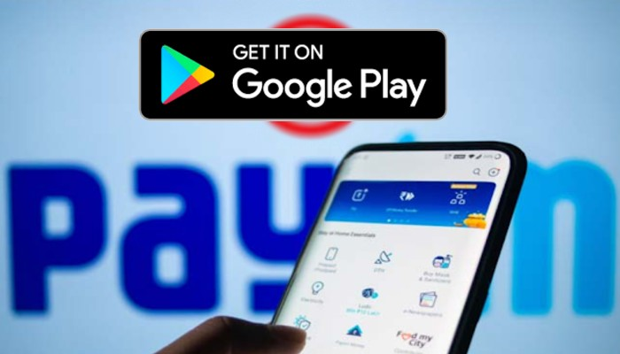 paytm is back in Google Play store within 4 hours after ban