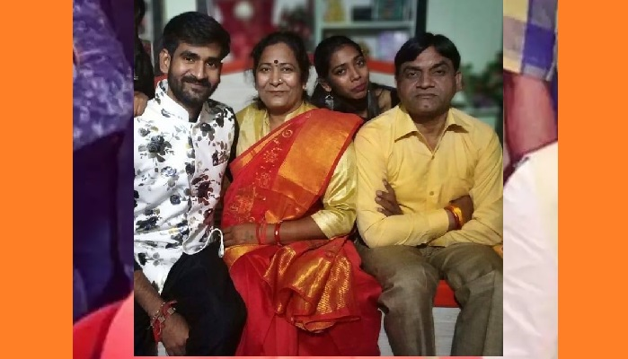 BJP MLA Kamlesh Saini with family