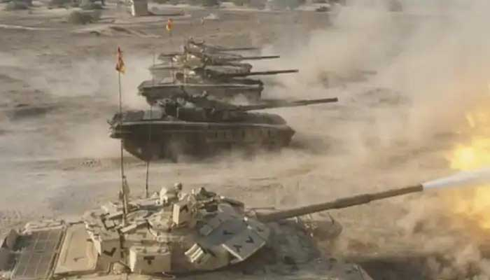 INDIAN ARMY WAR PRACTICE