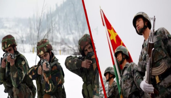 India china tension army released Chinese Soldiers strayed across LAC