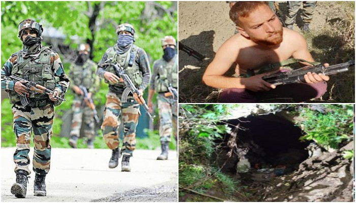 Operation All Out Indian Army destroying militant hideout terrorists surrender in Jammu kashmir