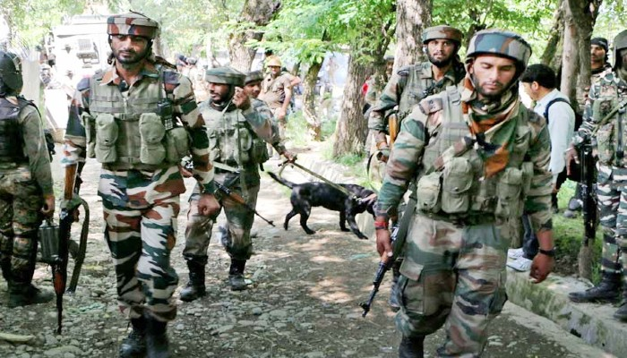 Terrorist killed in shopian during security forces encounter militants