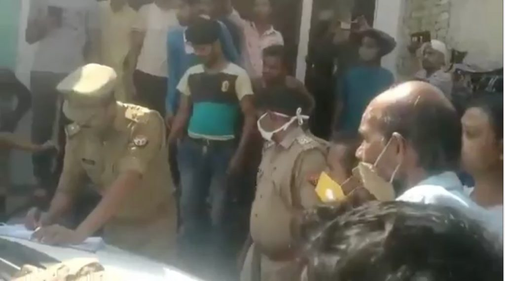 Lucknow Accident
