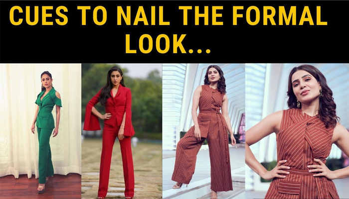 Style cues to amp up your basic formal wear..