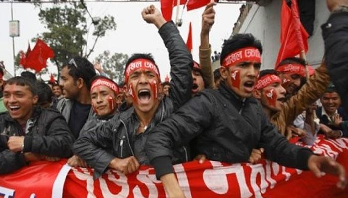 Protest in Nepal