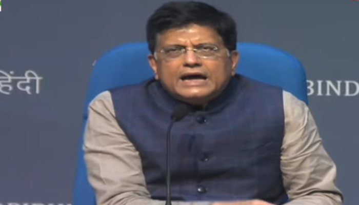 Press briefing by Union Ministers Narendra Singh Tomar and Piyush Goyal