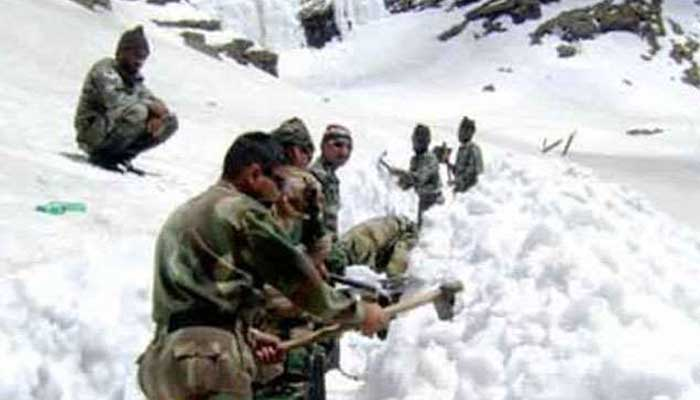 indian army on lac