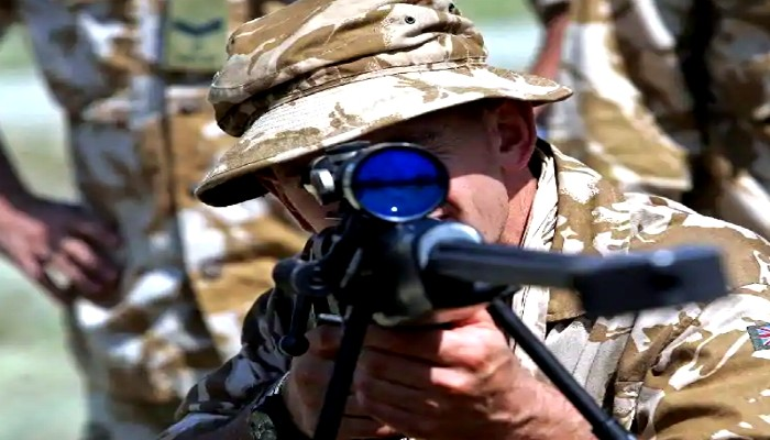 British Army-SAS Sniper Kills Five ISIS Terrorists With One Shot in Syria