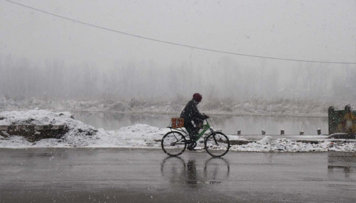 Cold in North India
