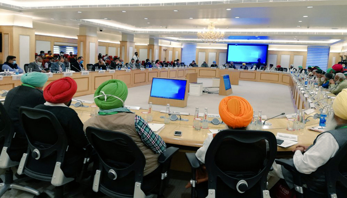 Farmers Government Meeting