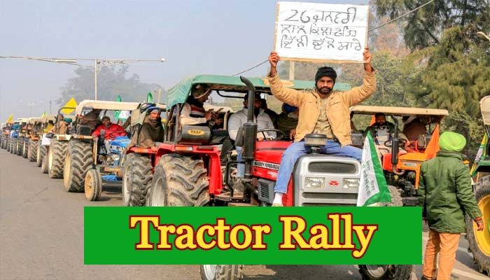 Farmers Tractor Rally Route Republic Day Traffic Diversion Police Advisory 26 January