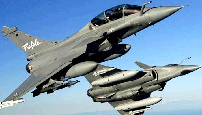 India France joint Air Exercise Desert Knight-21 in Jodhnpur featuring Rafale by both sides