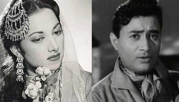 Suraiya and dev anand