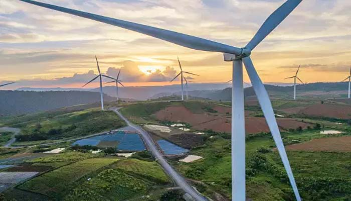 Adani Green Energy Wind Energy Project-1